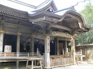 神楽殿(天岩戸神社西本宮)