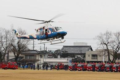 【国富】消防始め式