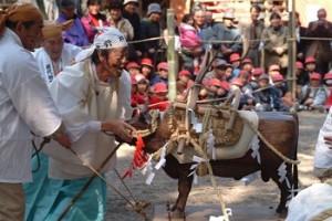 35苗代田祭