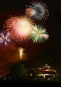 西米良村花火